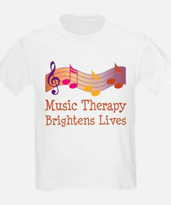 Music Therapy Quote T-Shirt