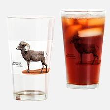 Desert Bighorn Drinking Glass