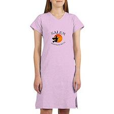 Salem Massachusetts Witch Women's Nightshirt