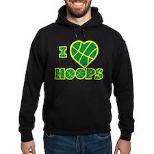 I Love Hoops Hoodie