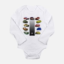 Mustang Gifts Long Sleeve Infant Bodysuit