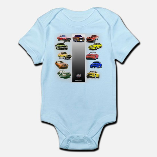 Mustang Gifts Infant Bodysuit