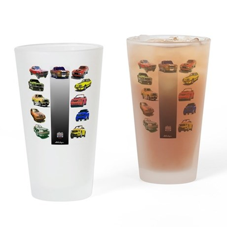 Mustang Gifts Drinking Glass