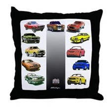 Mustang Gifts Throw Pillow