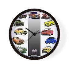 Mustang Gifts Wall Clock