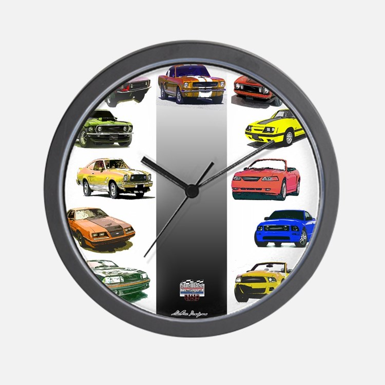 Mustang Gifts Wall Clock