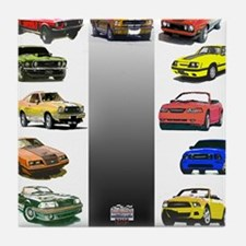Mustang Gifts Tile Coaster