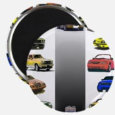 """Mustang Gifts 2.25"""" Magnet (100 pack)"""