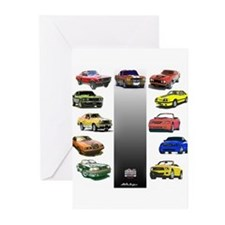 Mustang Gifts Greeting Cards (Pk of 10)