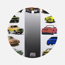 Mustang Gifts Ornament (Round)