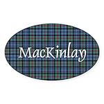 Tartan - MacKinlay Sticker (Oval 50 pk)