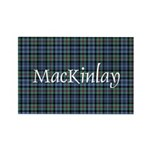 Tartan - MacKinlay Rectangle Magnet (10 pack)
