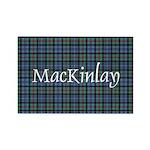Tartan - MacKinlay Rectangle Magnet (100 pack)