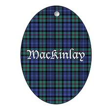Tartan - MacKinlay Ornament (Oval)