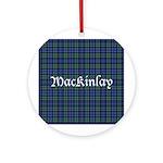 Tartan - MacKinlay Ornament (Round)