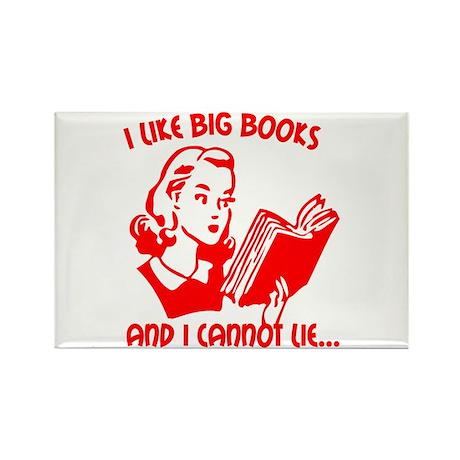 Big Books Rectangle Magnet