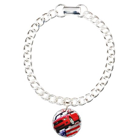 Mustang 2012 Gifts Charm Bracelet, One Charm