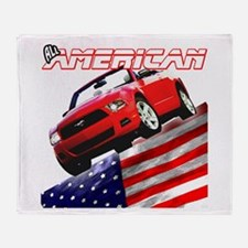 Mustang 2012 Gifts Throw Blanket