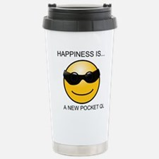 Happiness Is... Stainless Steel Travel Mug
