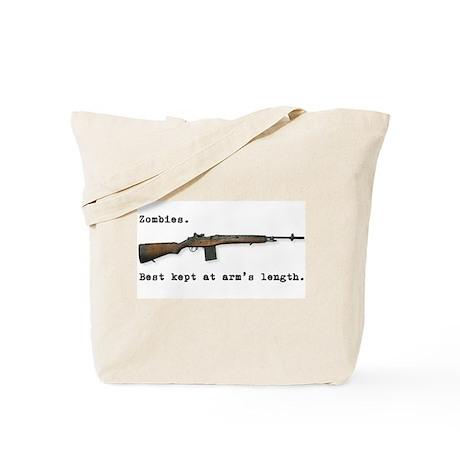 Best kept at arm's length... Tote Bag