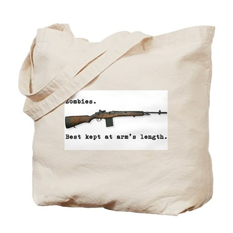 Best kept at arm's length... Tote Bag