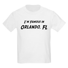 Famous in Orlando Kids T-Shirt
