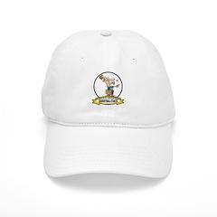 WORLDS GREATEST BASKETBALL COACH CARTOON Baseball Cap