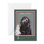 Black Lab Portrait Painting Holiday Cards (10)