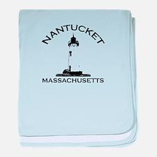 Nantucket MA baby blanket