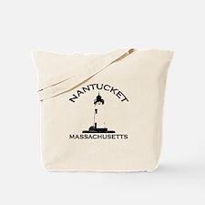 Nantucket MA Tote Bag