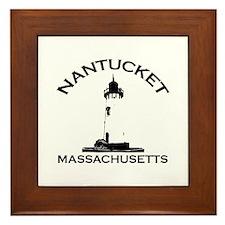 Nantucket MA Framed Tile