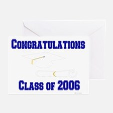 Congrats/Class of 2006 (3) Greeting Cards (Package