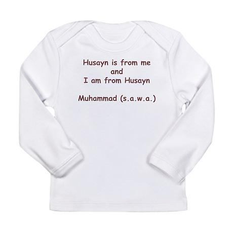 Ya Husayn Long Sleeve Infant T-Shirt