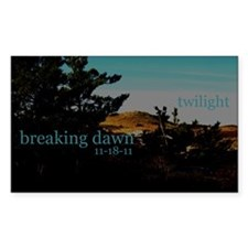 Twilight Breaking Dawn Sand D Decal