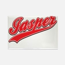 Jasper Tackle and Twill Rectangle Magnet