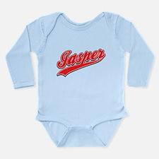 Jasper Tackle and Twill Long Sleeve Infant Bodysui