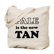 Pale is the new Tan Tote Bag