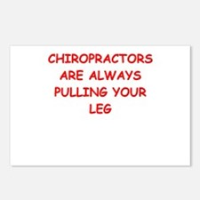 chiropractor joke Postcards (Package of 8)