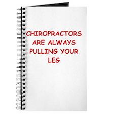 chiropractor joke Journal