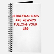 chiropractor joke Journal