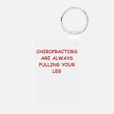 chiropractor joke Keychains