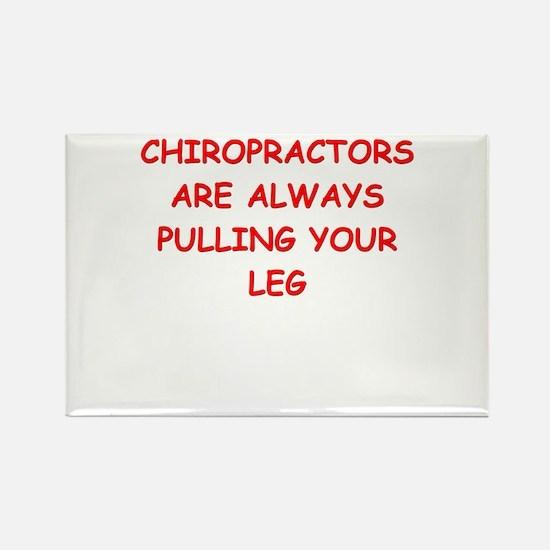 chiropractor joke Rectangle Magnet