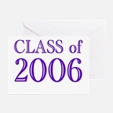 Class of 2006 (2) Greeting Cards (Pk of 10)