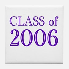 Class of 2006 (2) Tile Coaster