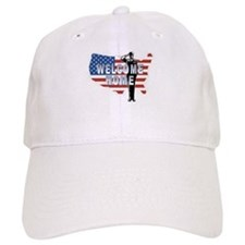 Welcome Home Military Baseball Cap