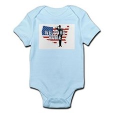 Welcome Home Military Infant Bodysuit