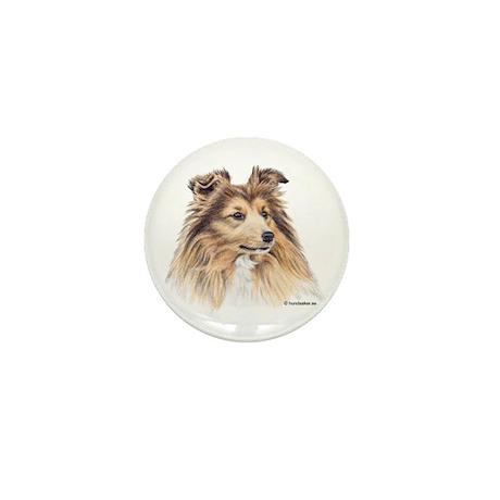 Shetland Sheepdog Mini Button (10 pack)
