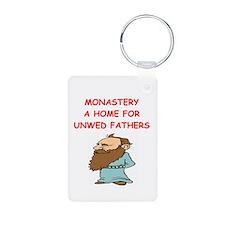 monastery joke Keychains