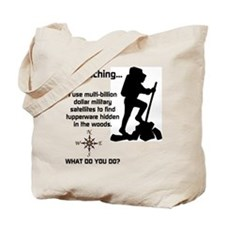 What do you do? Tote Bag
