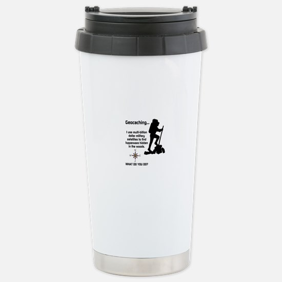 What do you do? Stainless Steel Travel Mug